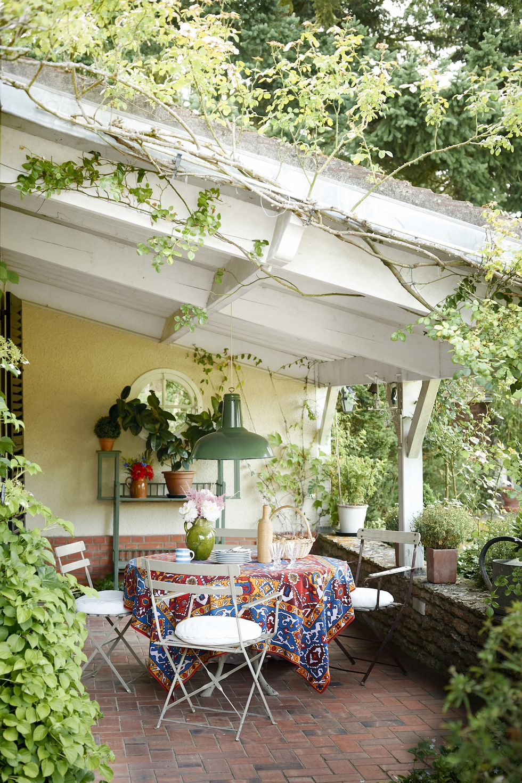 Patio Ideas - Garden Inspiration - Interiors By Color on Small Patio Design Ideas  id=30390