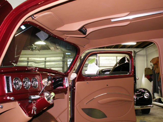 1938 Chevy Hot Rod Interior Full Leather