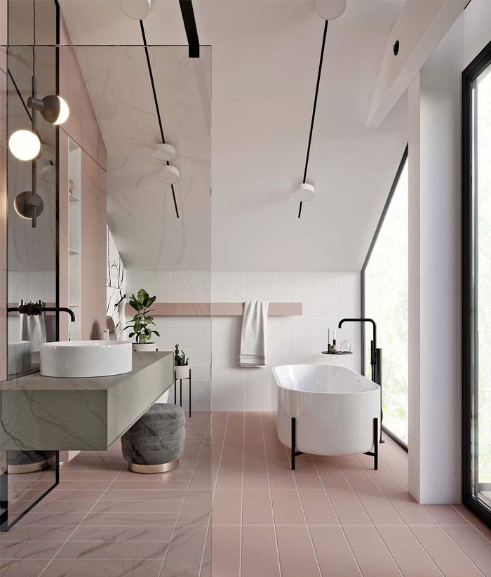 Bathroom Trends 2019 / 2020 - Designs, Colors and Tile ... on Small Bathroom Ideas 2020 id=18137