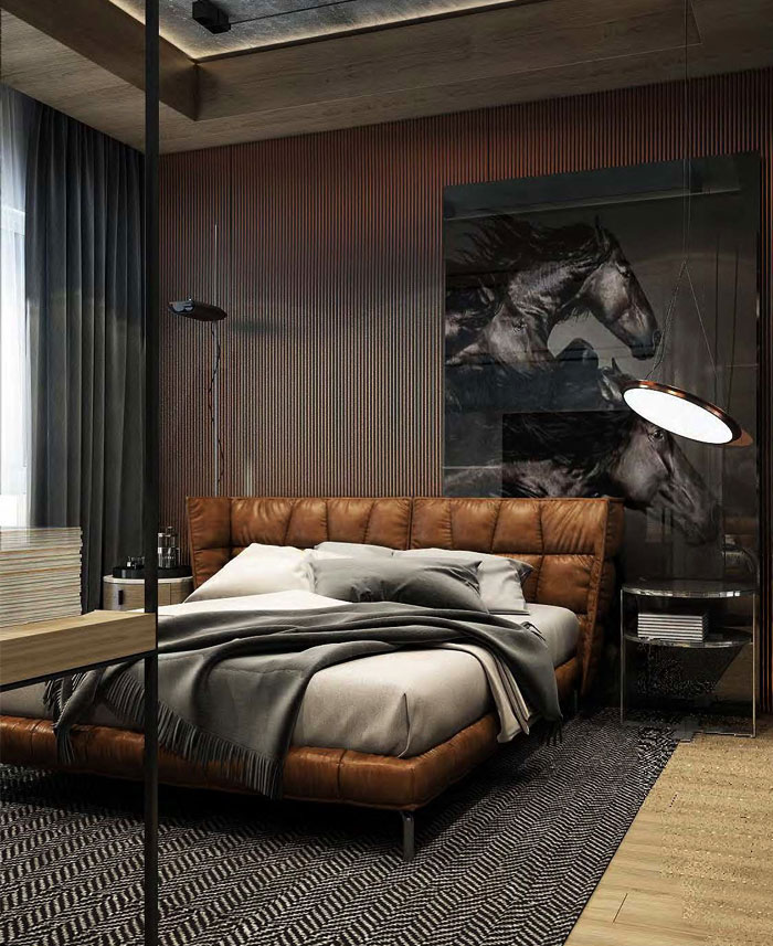 80 Men S Bedroom Ideas A List Of The Best Masculine Bedrooms Interiorzine