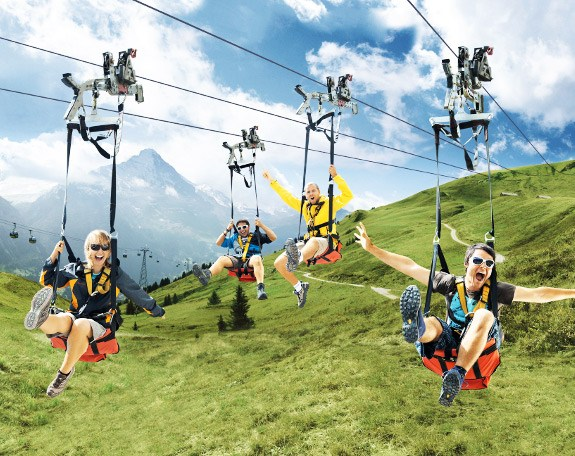 Interlaken budget tour Package
