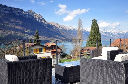 Lake view chalet interlaken