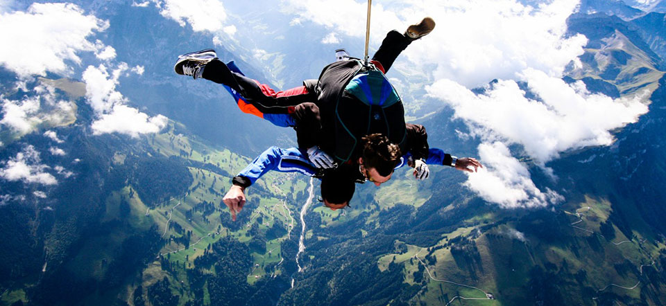 skydiving interlaken booking