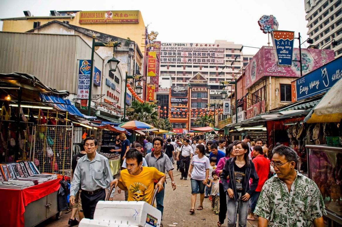 KualaLumpurChinatownRueStreet