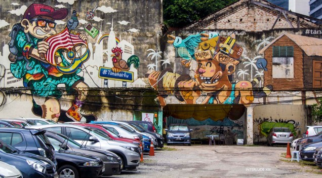 KualaLumpurTanahairkuJalanRajaChulanStreetArtTag
