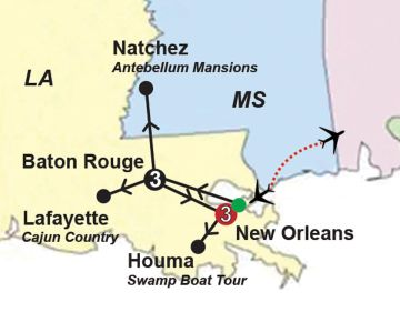 Louisiana Guided Vacation