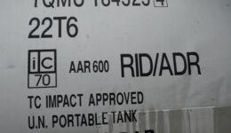 Número de tanque