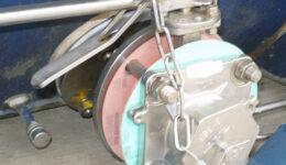 Instalación con válvula inferior