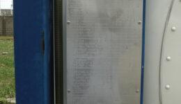 Placas  de aprobación CSC/ Datos