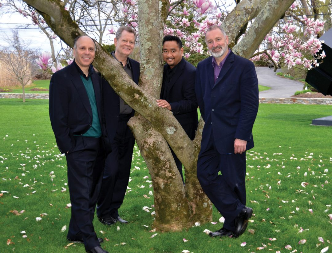 Alexander-String-Quartet_(L-R)Frederick-Lifsitz(violin)_Paul-Yarbrough(viola)_Zakarias-Grafilo(violin)_Sandy-Wilson(cello)_Photo-Shirley-Singer