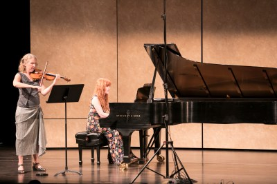 Stenberg | Cahill Duo at SF Music Day