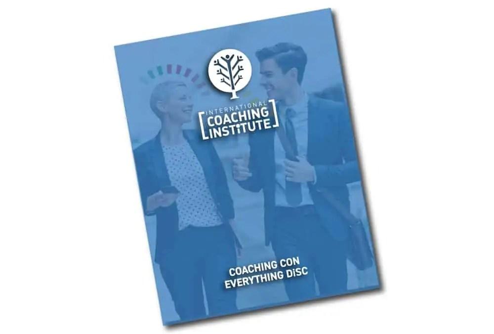 Portada del programa del curso Coaching con DiSC
