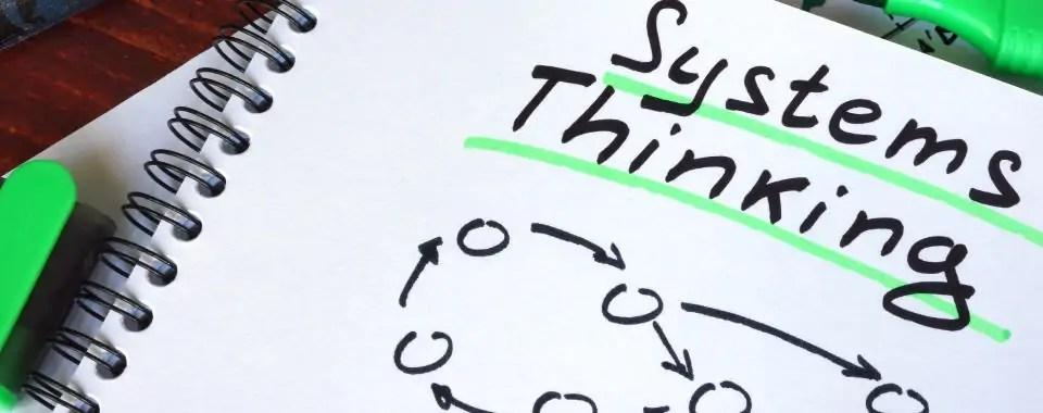 Imagen de un acuerdo con un sistema de círculos conectados para representar el coaching y pensamiento sistémico