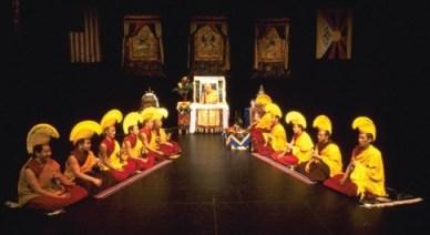 monaci di gyuto, accordo a una voce, canto armonico