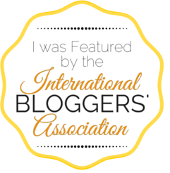 I was Featured by the International Bloggers' Association.