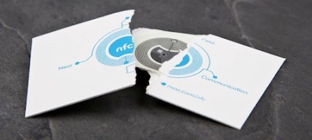 12 Creative Business Cards That Double as Cool Gadgets     NFC Card by MOO