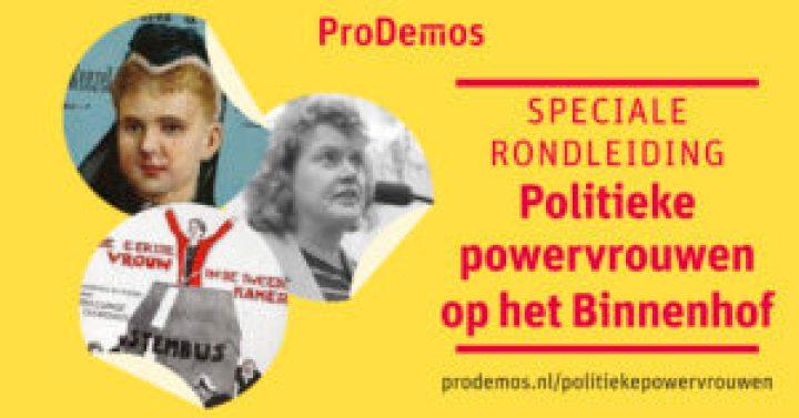 ProDemos – Huis voor democratie en rechtsstaat vrouwendag 2019