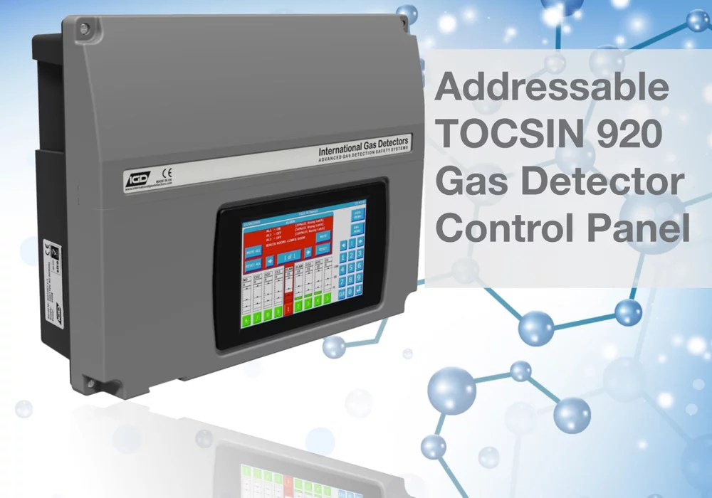 Tocsin 920 series addressable control panel products tocsin 920 addressable gas detector control panel publicscrutiny Choice Image