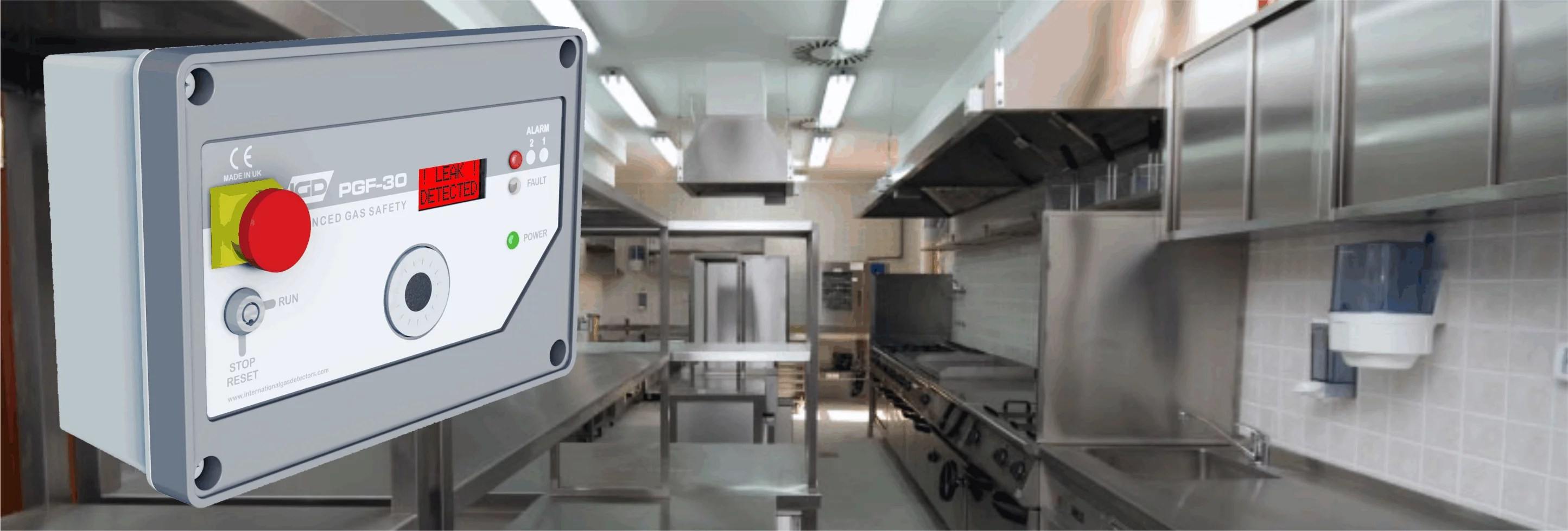Gas Detection in mercial Kitchens Applications International