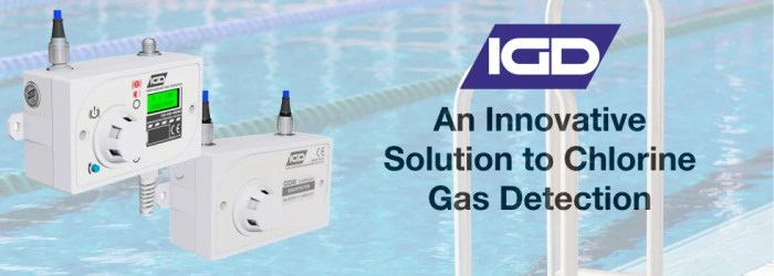 Chlorine gas detection system