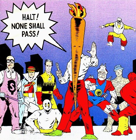 Image result for the flaming carrot comics