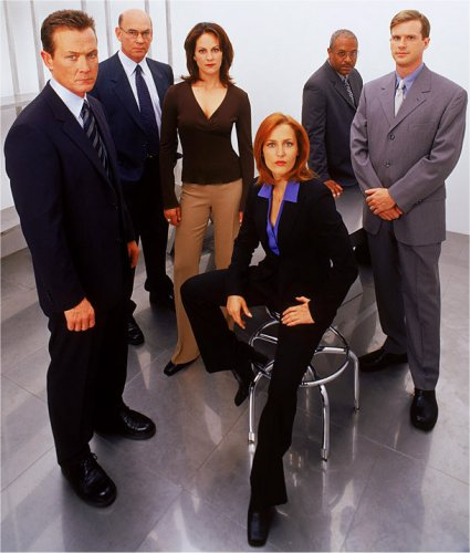 A promo shot from X-Files season 9.