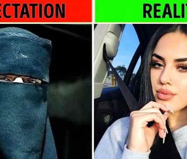 Expectation Vs Reality On Arab Girls