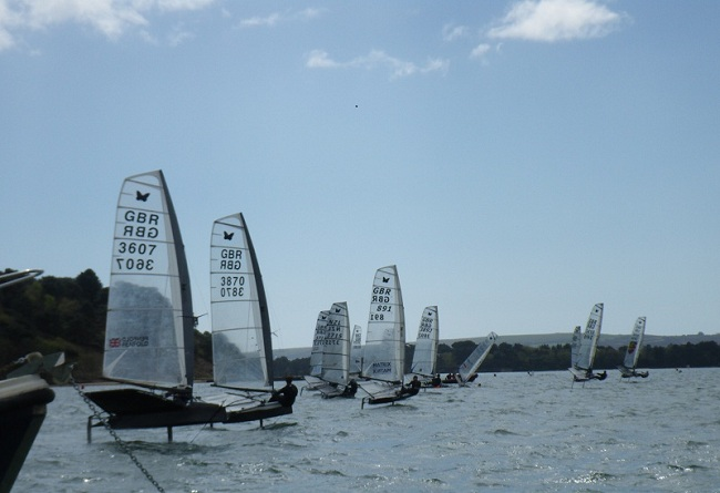 Foiling by Brownsea Island