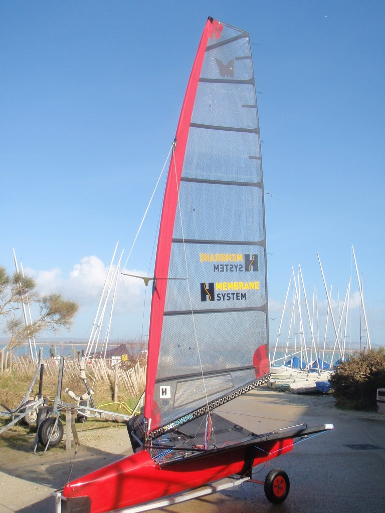 Mike's Exocet at Hayling Island SC