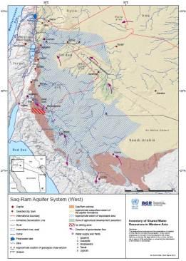 Saq-Ram Aquifer Map