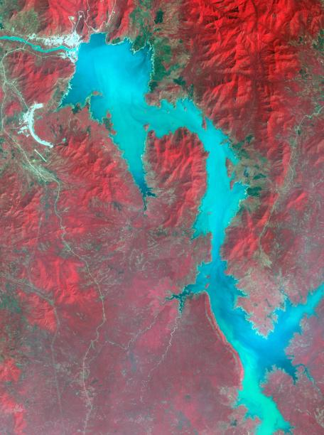 The GERD from Space