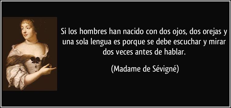 Las 15 Mejores Frases De Madame De Sévigné Internesante