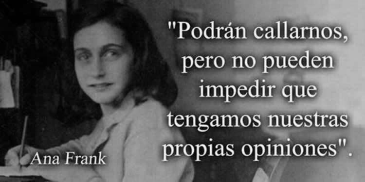 Las 15 Mejores Frases De Ana Frank Internesante