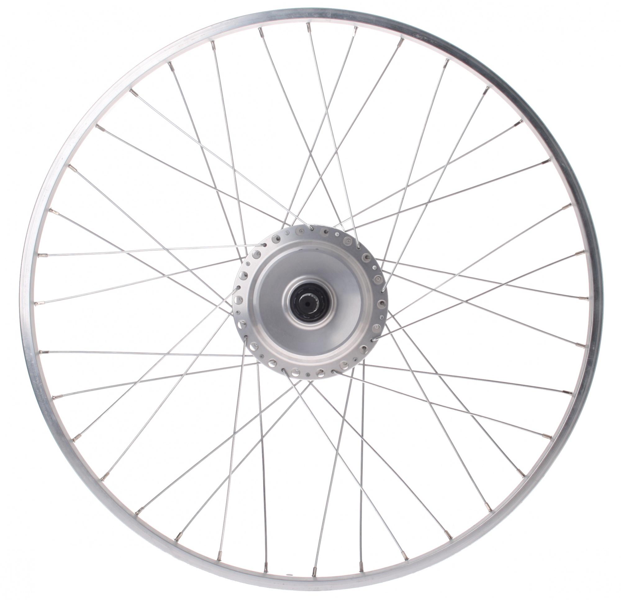 Nuvinci N171 26 Inch Rear Wheel 36g Steel Silver