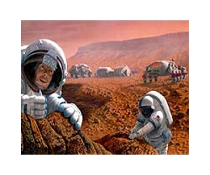 mars human base astronaut lg Trip to Mars could leave crew dangerously weak