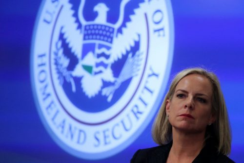 T4AS3YXG5QI6RKJZSRU7CFTPTU 500x333 Trump is preparing to remove Kirstjen Nielsen as Homeland Security secretary, aides say
