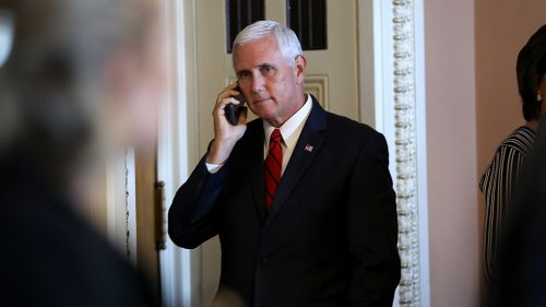 pencemike 090518gn lead 500x281 Trump privately asking aides if Pence is loyal: report
