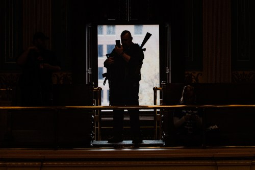 Michigan Bans Open Carry of Guns in Capitol Building as Threats of Violence Increase