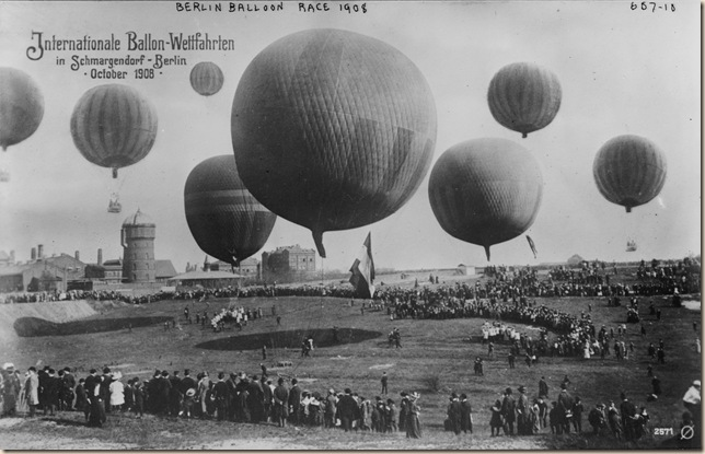 Berlin Balloon Race 1908