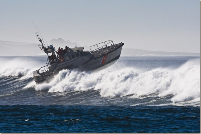 Coast Guard Boat in Morro Bay, CA 04 Dec 2007