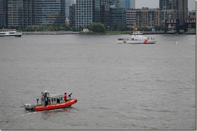 Coast Guard in East River