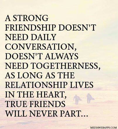 strong friendship