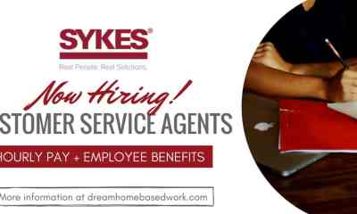 A Home-Based Customer Service Job with Benefits