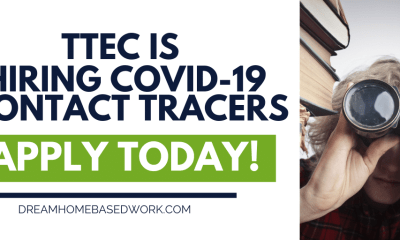 TTEC Hiring Work from Home Covid-19 Contact Tracers