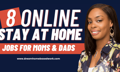 8 Legitimate Work from Home Jobs for Stay at Home Moms
