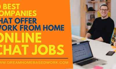 Best 10 Online Chat Jobs You Can Do from Home, Apply Today!