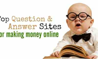 Top 6 Ways To Answer Questions and Make Money Online
