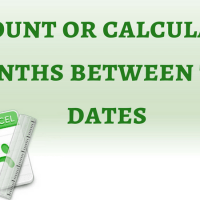 How to Calculate Months Between Two Dates in Excel and Google Sheets