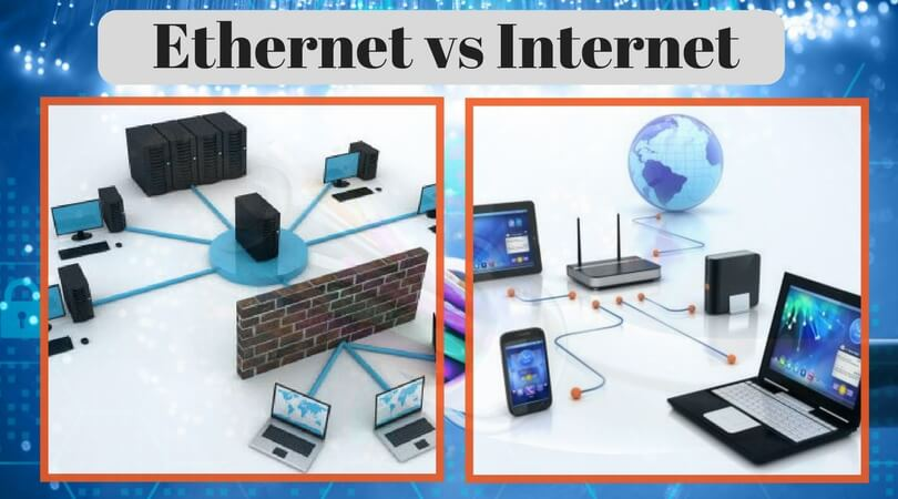 Ethernet vs Internet