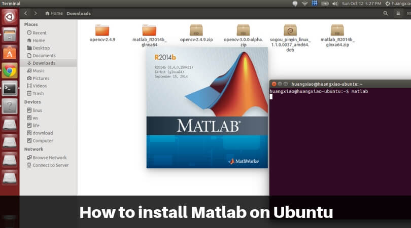 How to install Matlab on Ubuntu